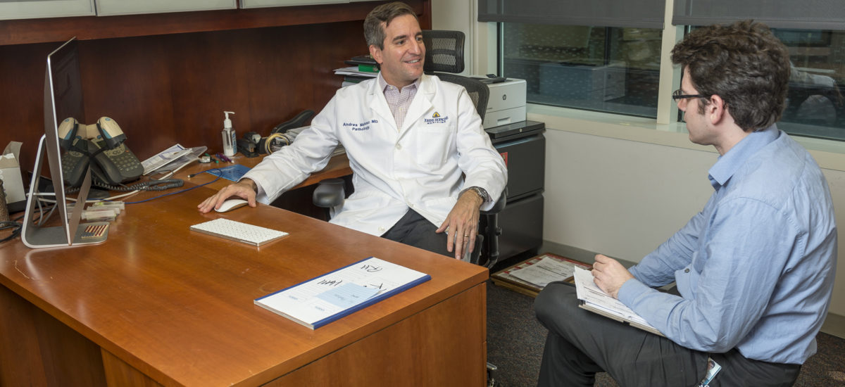 Dr. Andres Matoso and Resident